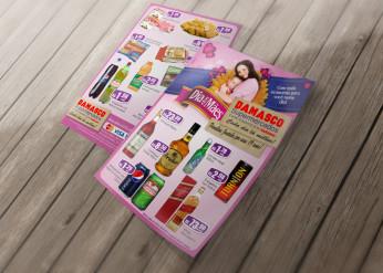 Supermercado Damasco - Folder de Ofertas, Dia das Mães 2011